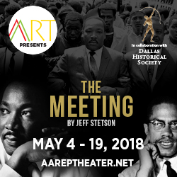 "AART presents ""The Meeting"" @ HALL OF STATE Margaret and Al Hill Lecture Hall 